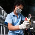 Suzhou, empresa catalana associada amb l'empresa de sanitaris ROCA.