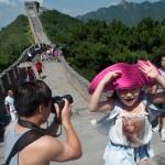 La gran Muralla, visitada per milers de persones cada any.