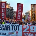 La manifestació més multitudinària de Girona.
